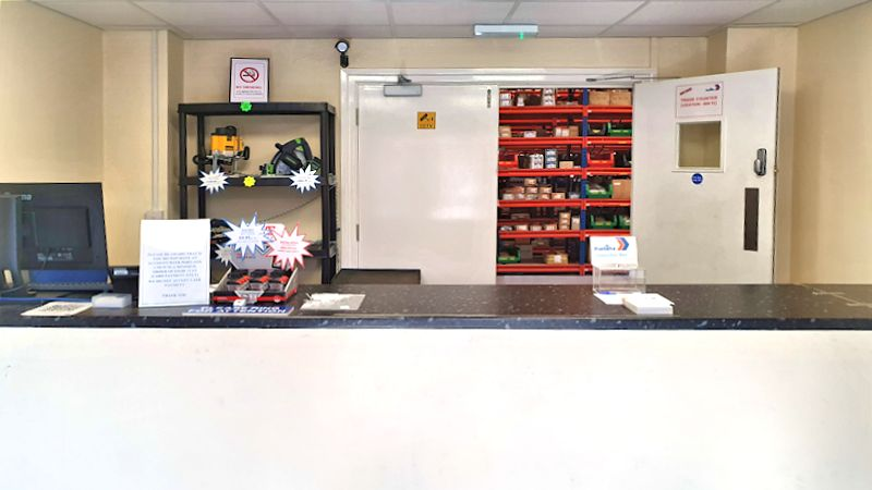 image of Portafix Andover trade counter